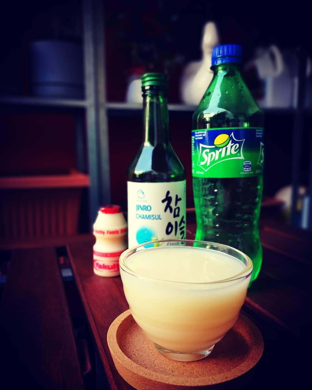 Soju recipes - Yogurt soju