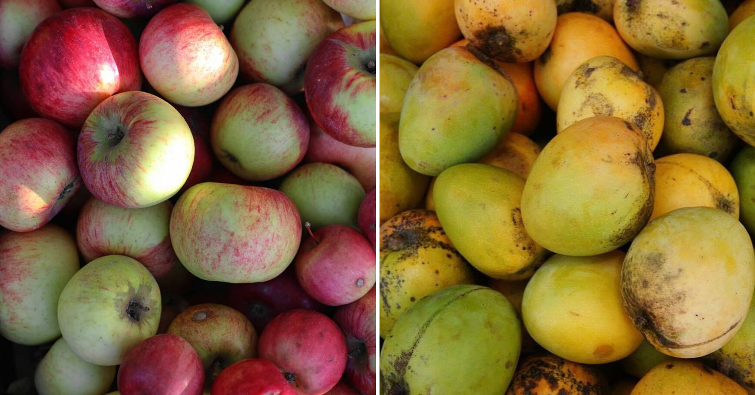 Grocery mistakes: avoiding spotted fruits