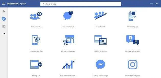 Facebook Bluprint